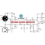 CROWN AUDIO δωρεάν service manuals