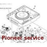PIONEER DJ δωρεάν service manuals