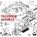 TECHNICS δωρεάν service manuals